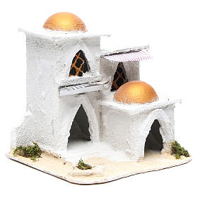 Nativity Arabian house 19x17x17cm s3