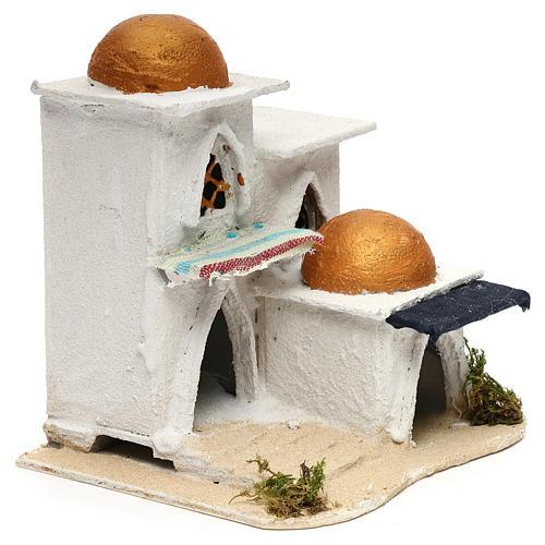 Nativity Arabian house 19x17x17cm 7
