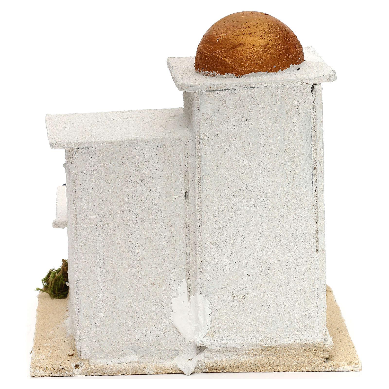 Casa araba presepe 19x17x17 cm 4
