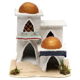 Casa araba presepe 19x17x17 cm s5