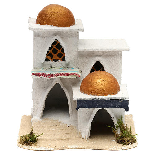 Casa araba presepe 19x17x17 cm 5