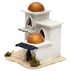 Nativity Arabian house 19x17x17cm s6