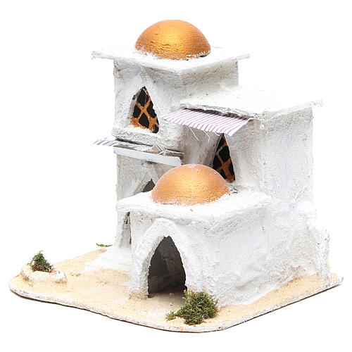 Nativity Arabian house 19x17x17cm 2