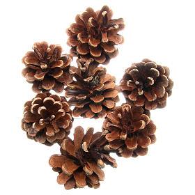Enfeites de Natal para a Casa: Cones de pinheiro 75 gramas