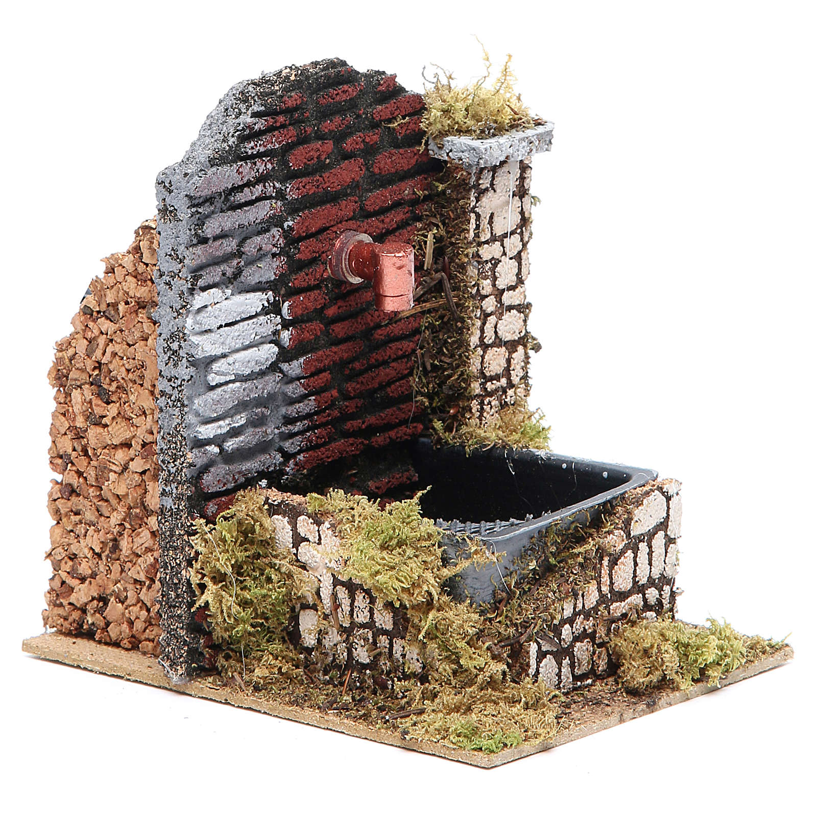 Nativity fountain 15x13x10cm, assorted models 4