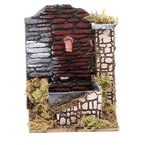 Nativity fountain 15x13x10cm, assorted models 1