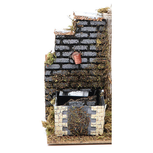 Nativity fountain 15x13x10cm, assorted models 2