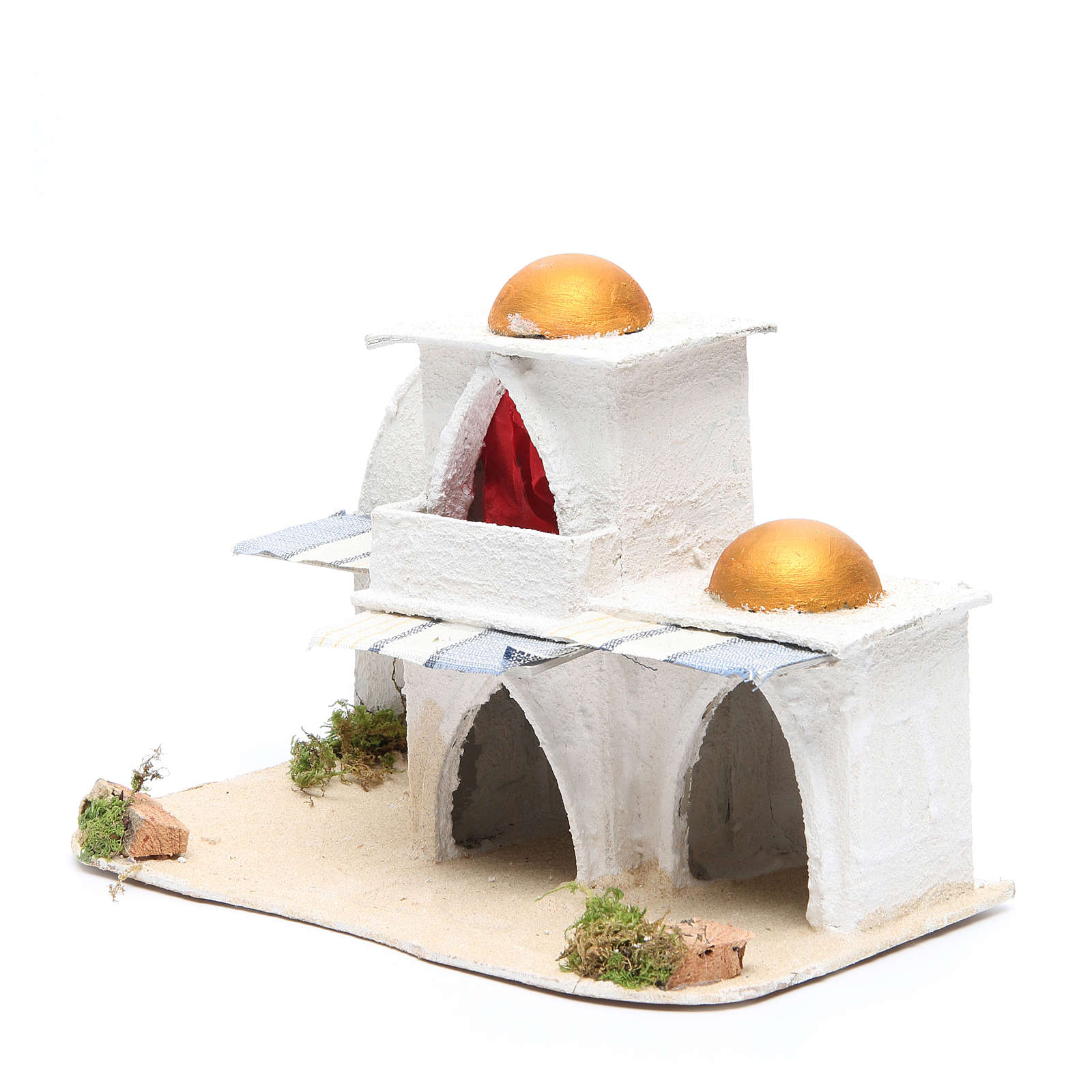 Casa araba cm 21,5x29x17 per presepe 4