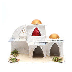 Casa araba cm 21,5x29x17 per presepe s1