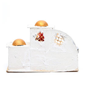 Casa araba cm 21,5x29x17 per presepe s3