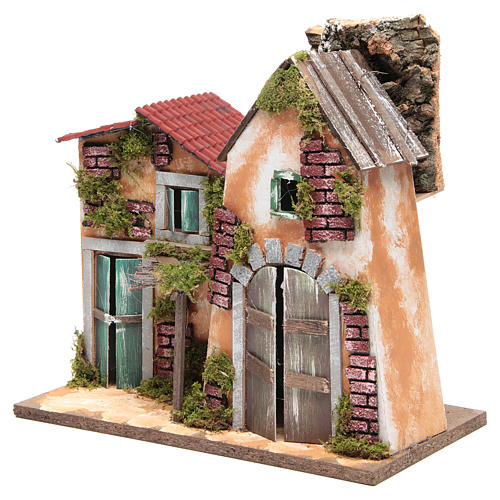 Nativity farmhouse 31x33x18cm 2