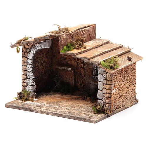 Portal para pesebre Nápoles 15x20x15 cm 2