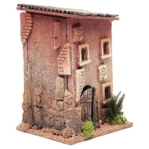 Maison crèche 23x15x12 cm pour 6 cm 3