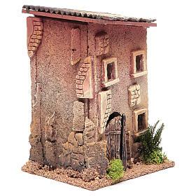 Casa para presépio com figuras altura média 6 cm, 23x15x12cm s3