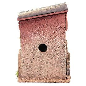 Casa para presépio com figuras altura média 6 cm, 23x15x12cm s4