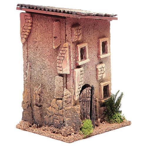 Casa para presépio com figuras altura média 6 cm, 23x15x12cm 3