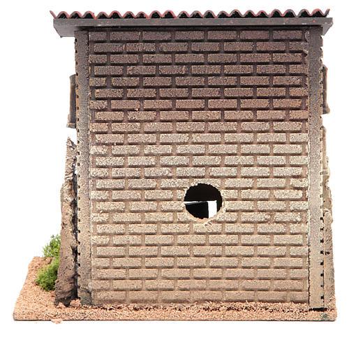 Casa con scaletta 23x23x14 per 6 cm 4