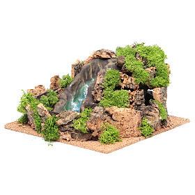 Cascata presepe 14x25x25 cm s2