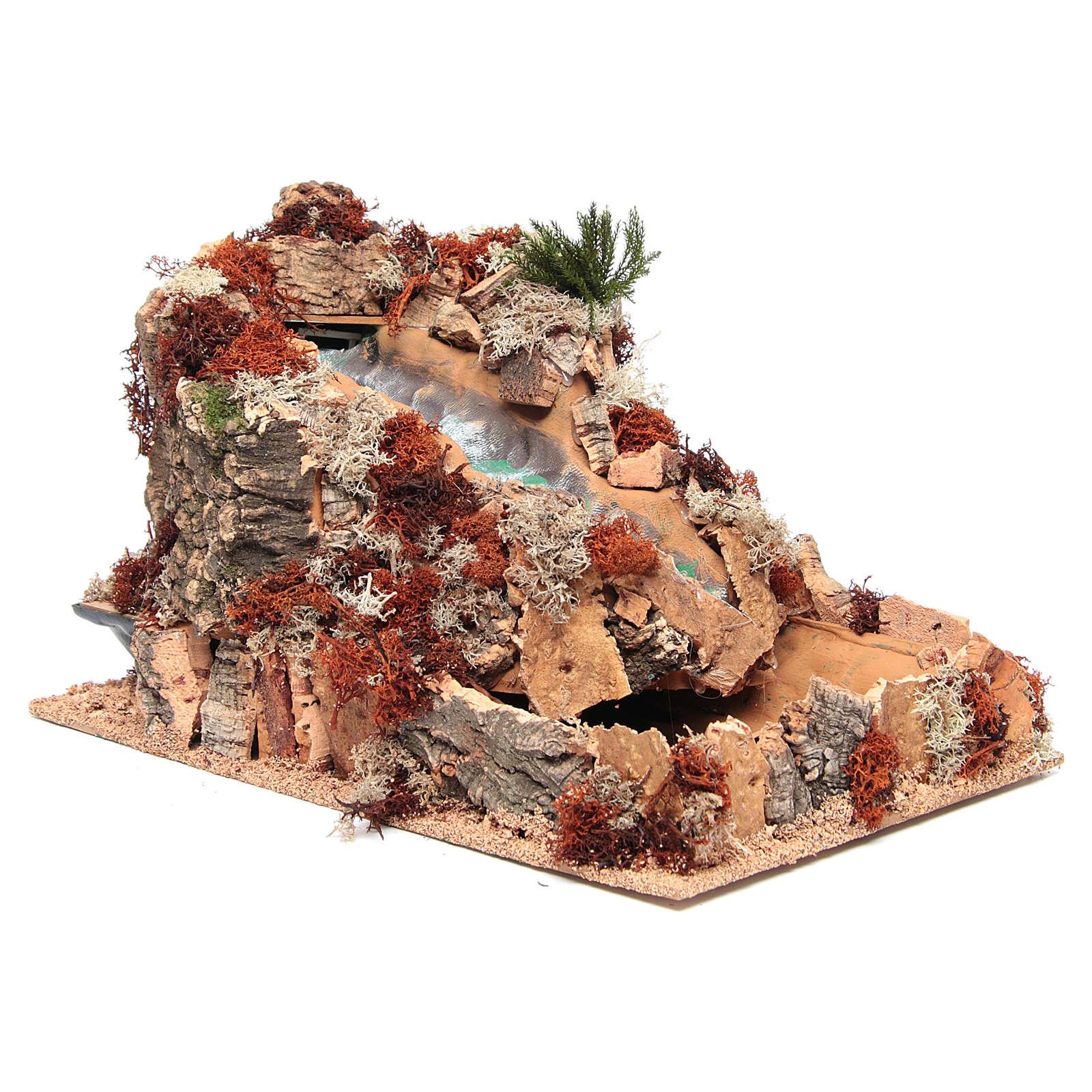 Cascata araba presepe 25x25x40 cm 4