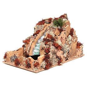 Cascata araba presepe 25x25x40 cm s2