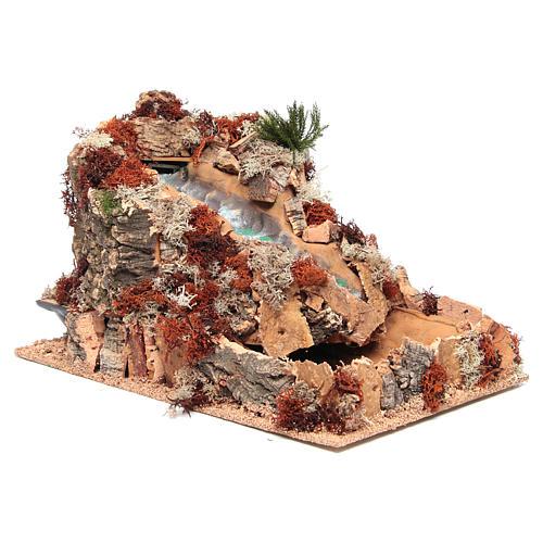 Cascata araba presepe 25x25x40 cm 3