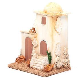 Nativity setting, minaret measuring 14x11x8cm s2