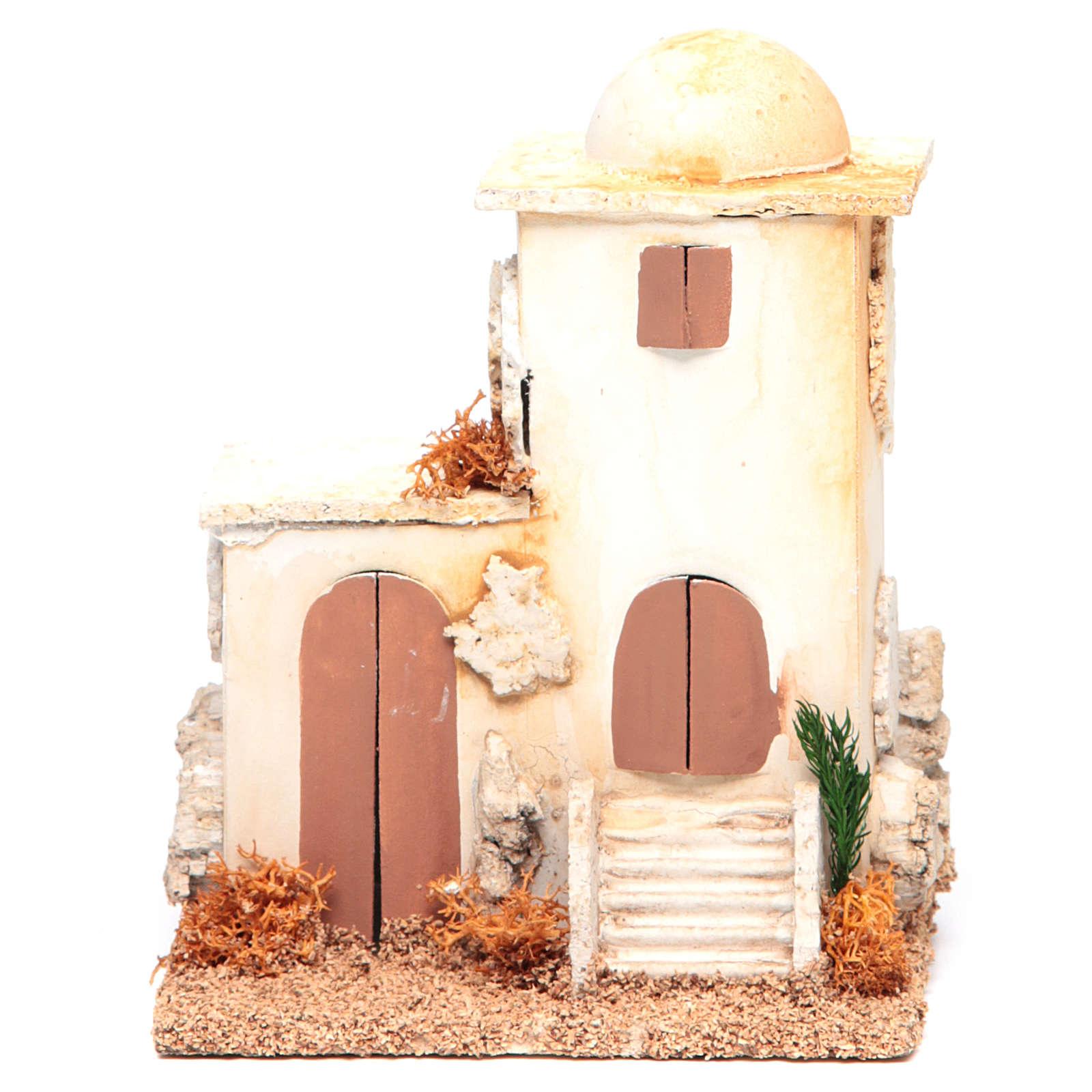 Nativity setting, minaret measuring 14x11x8cm 4