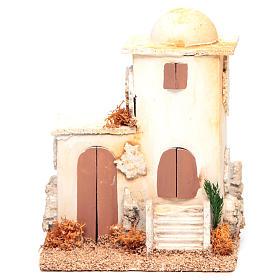 Nativity setting, minaret measuring 14x11x8cm s1