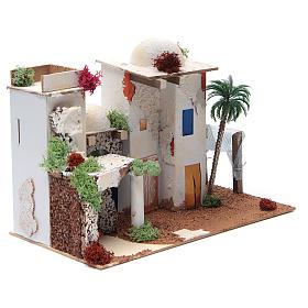 Maison arabe avec miroir de 25x35x20 cm s2
