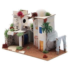 Maison arabe avec miroir de 25x35x20 cm s3