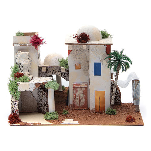 Maison arabe avec miroir de 25x35x20 cm 1