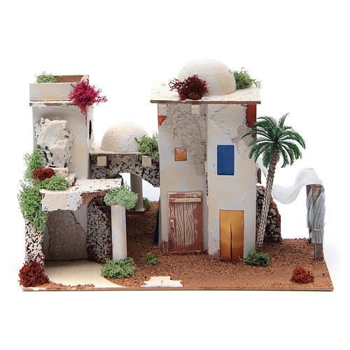 Arabian house with mirror, sized 25x35x20cm 1