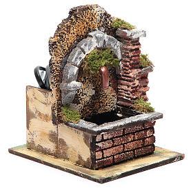 Fontaine avec pompe à immersion et arc 15x10x15 cm s2