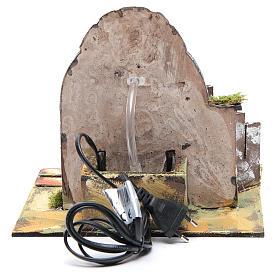 Fontaine résine 25x25x20 cm pompe de recyclage d'eau s4