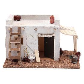 Casa Araba con tenda polistirene 25x20xh15 cm s1
