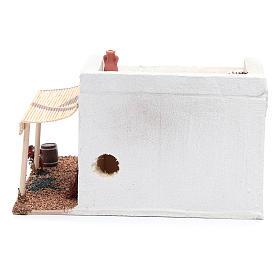 Casa Araba con tenda polistirene 25x20xh15 cm s4