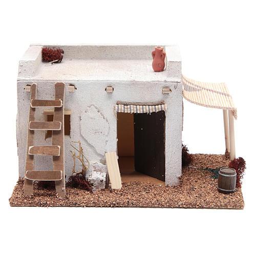 Casa Araba con tenda polistirene 25x20xh15 cm 1
