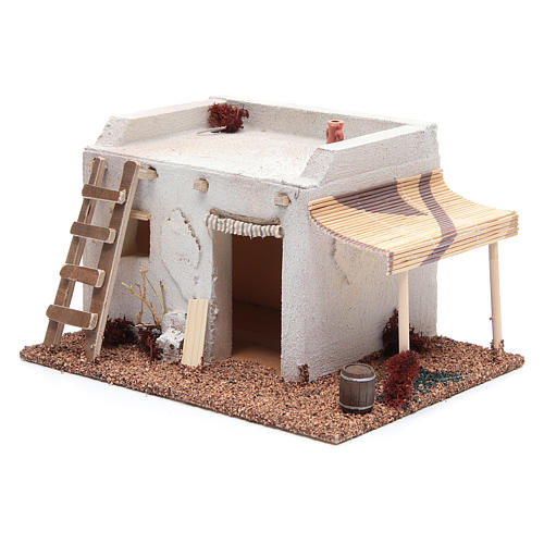Casa Araba con tenda polistirene 25x20xh15 cm 2