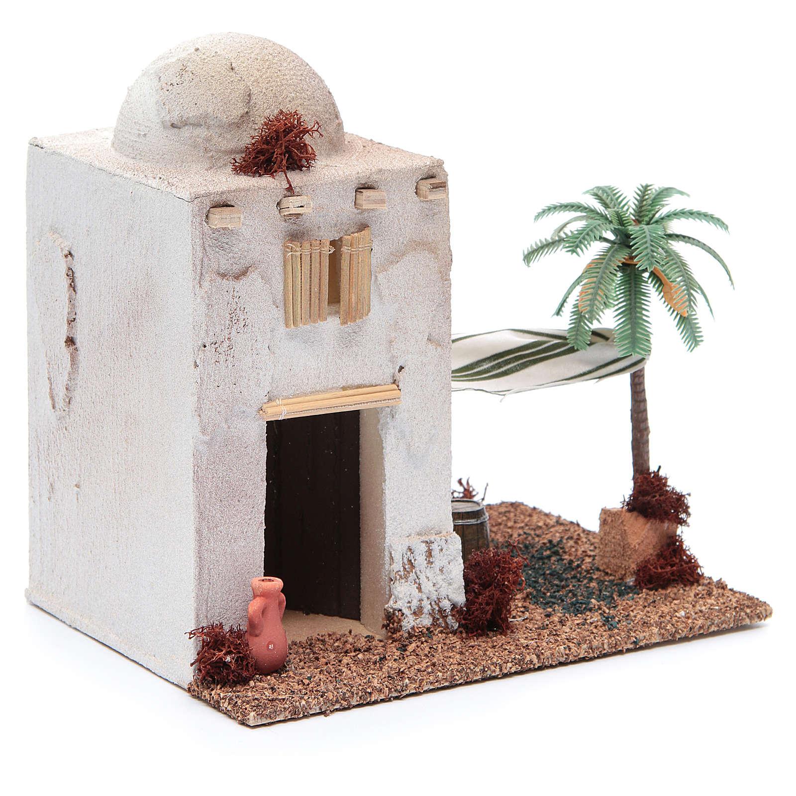 Casetta stile arabo in polistirene cm 20x15xh20 4
