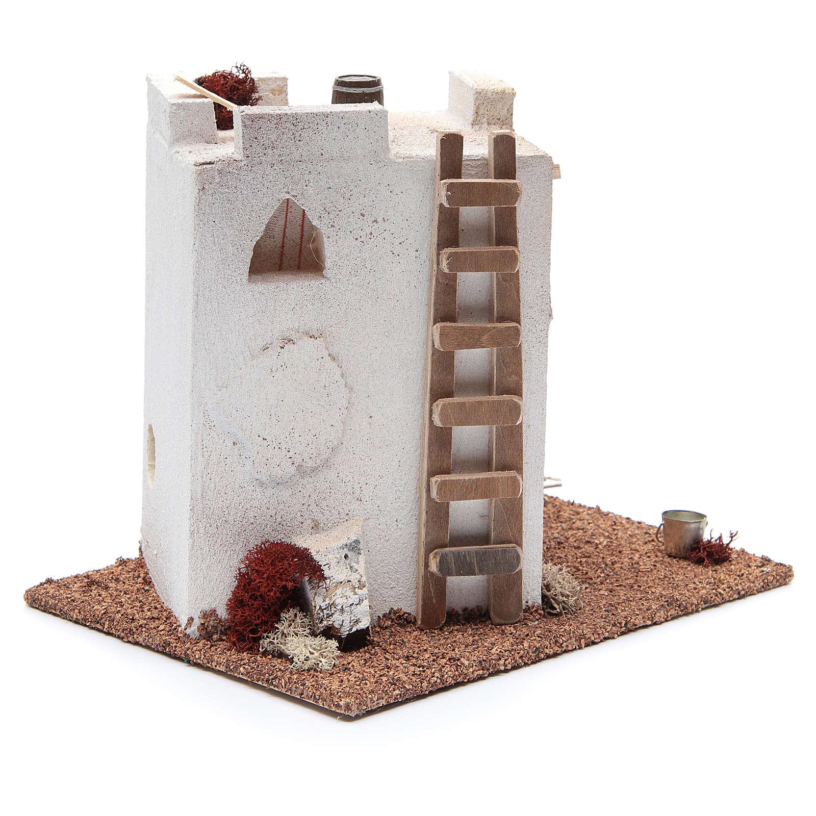 Casa Araba con finestrelle cm 25x20xh20 4