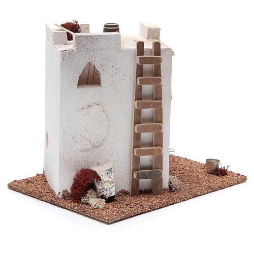 Casa Araba con finestrelle cm 25x20xh20 3