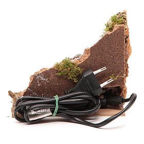 Fuego eléctrico 15x15x10 cm s4