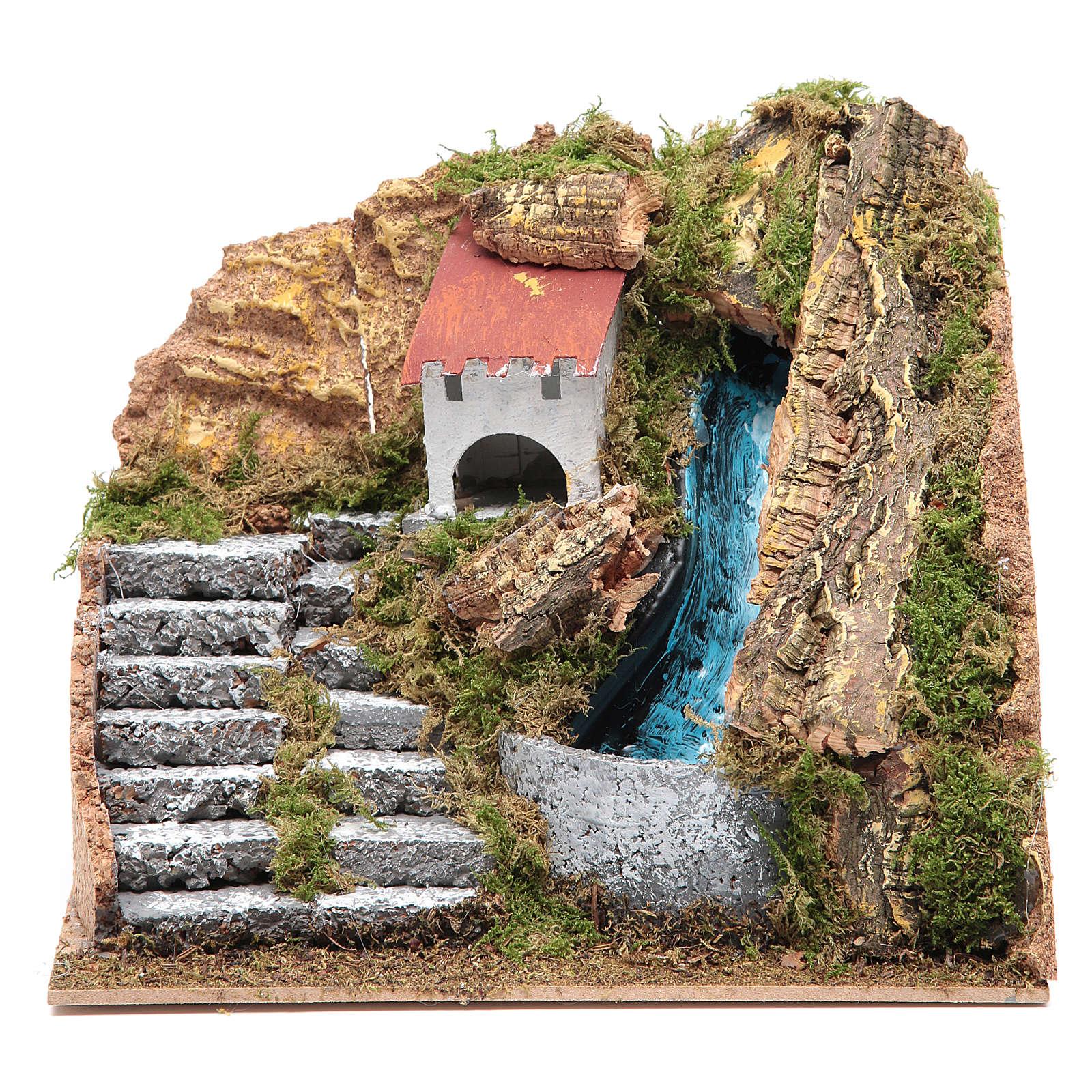 Ruscello con pompa cm 15x20x15 cm 4