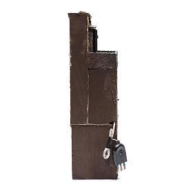 Bourgade pour crèche napolitaine 35x10x10 cm éclairée s4