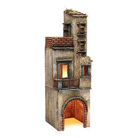 Borgo per presepe napoletano 50x15x15 s3