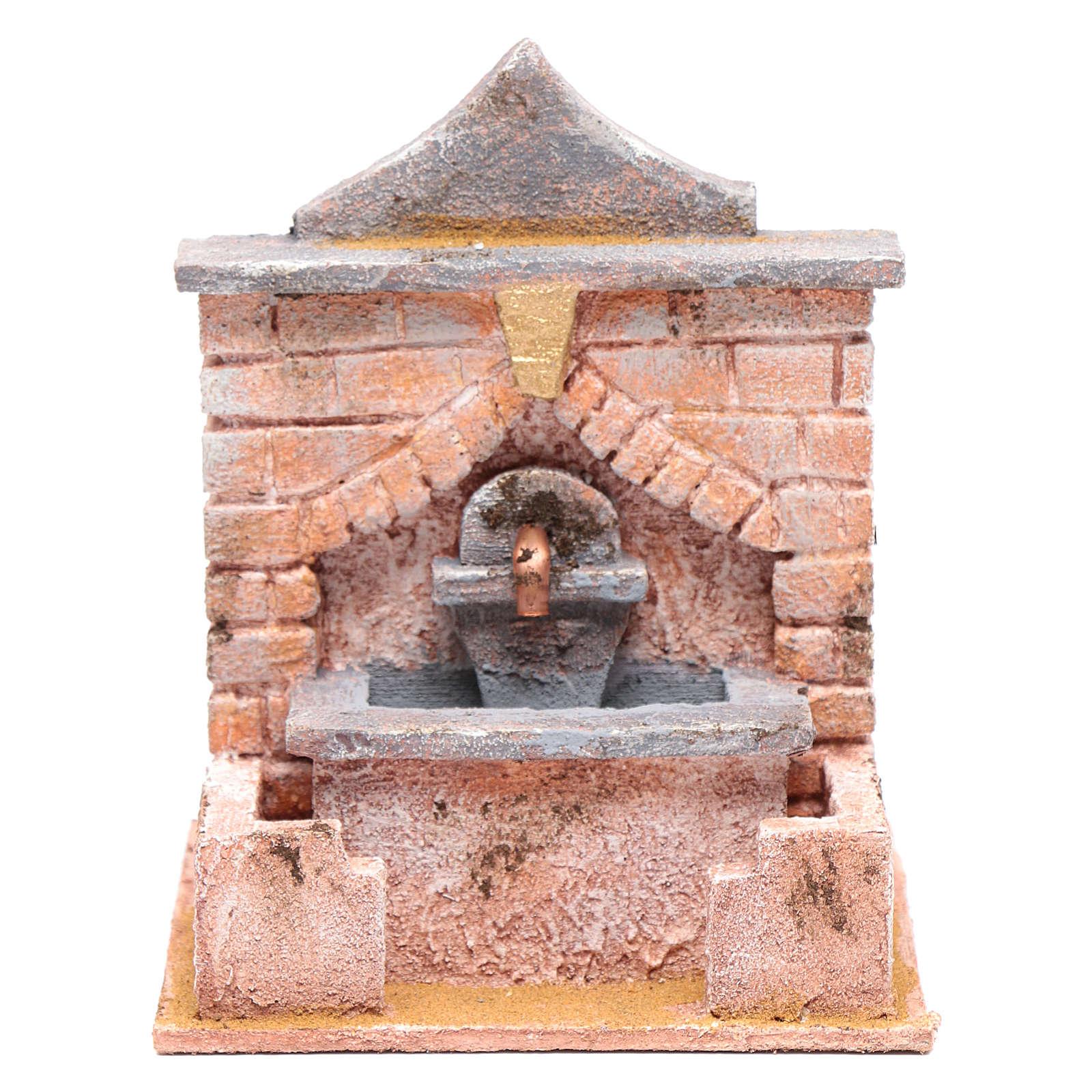 Fontana con pompa 20x15x15 cm 4