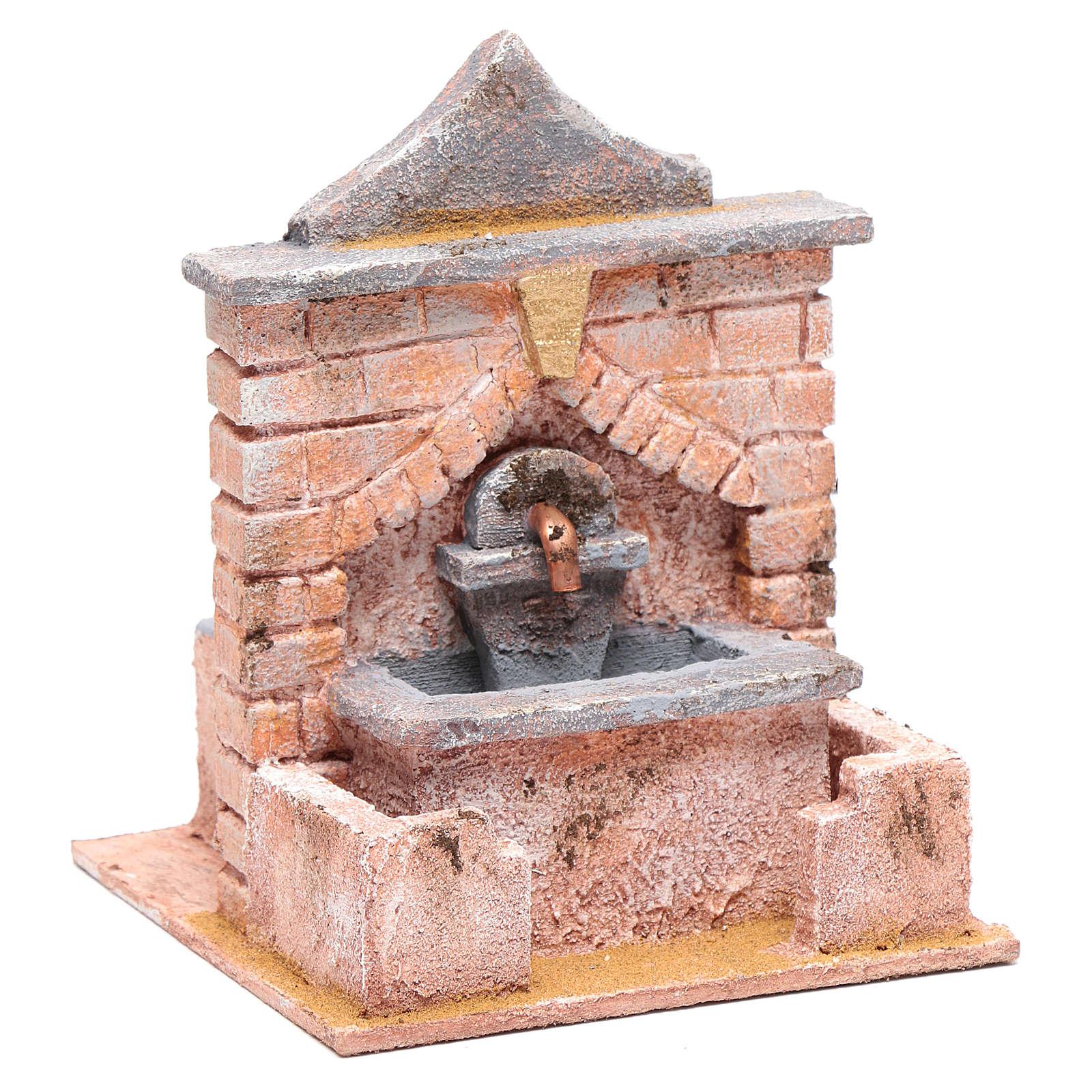 Fontana con pompa 20x15x15 per statue 10 12 cm 4