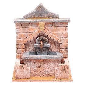 Fontana con pompa 20x15x15 per statue 10 12 cm s1