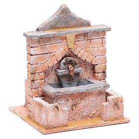 Fontana con pompa 20x15x15 per statue 10 12 cm s3