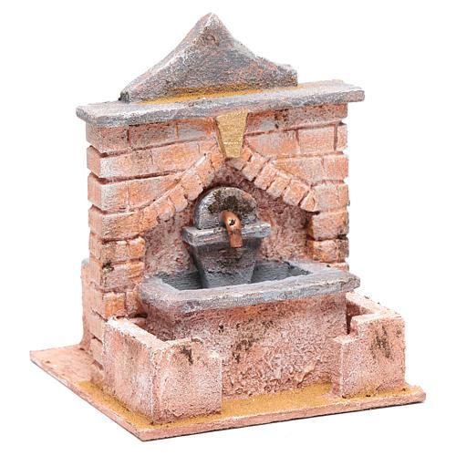 Fontana con pompa 20x15x15 cm 3